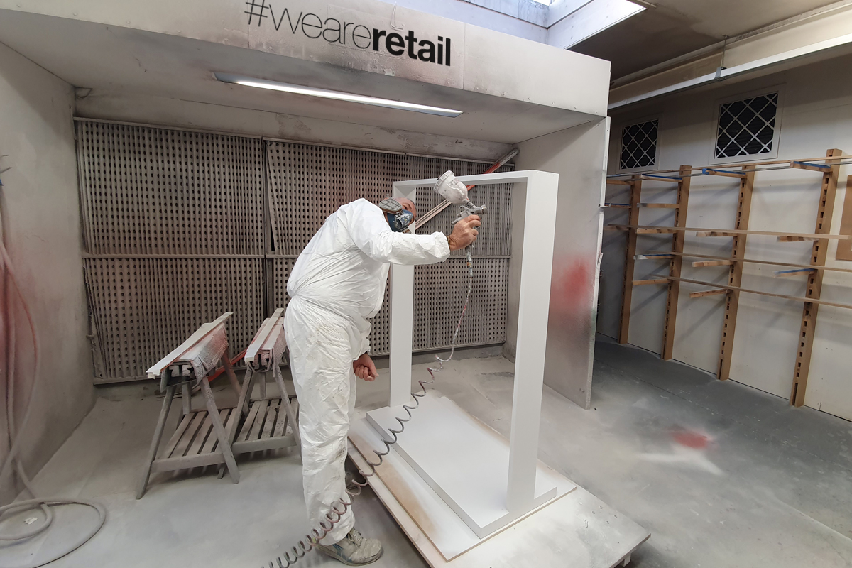 manufacturing spray booth
