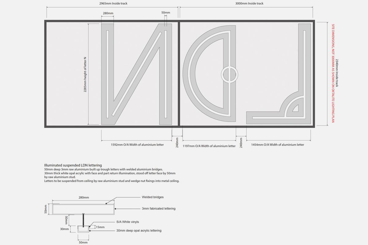 LDN CAD drawing