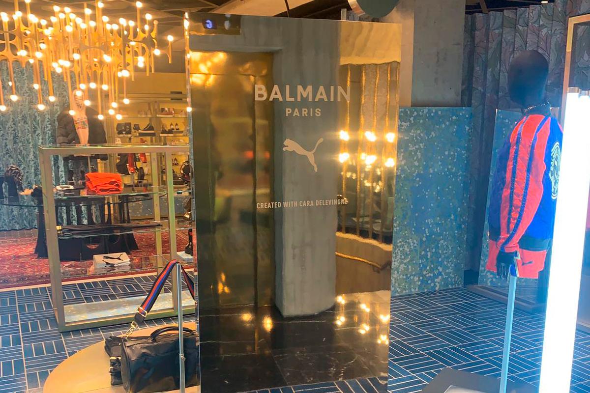 Puma Balmain Flannels Oxford Street