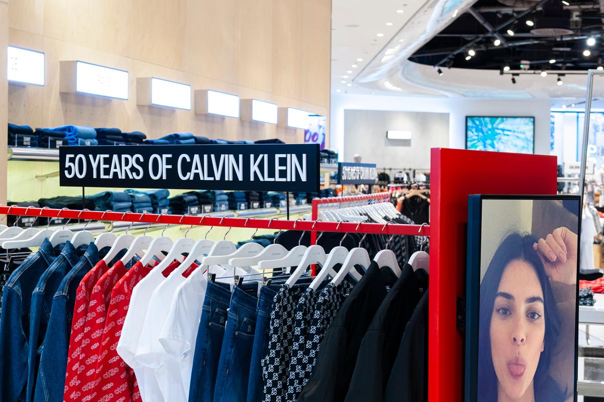 Calvin Klein selfridges rail
