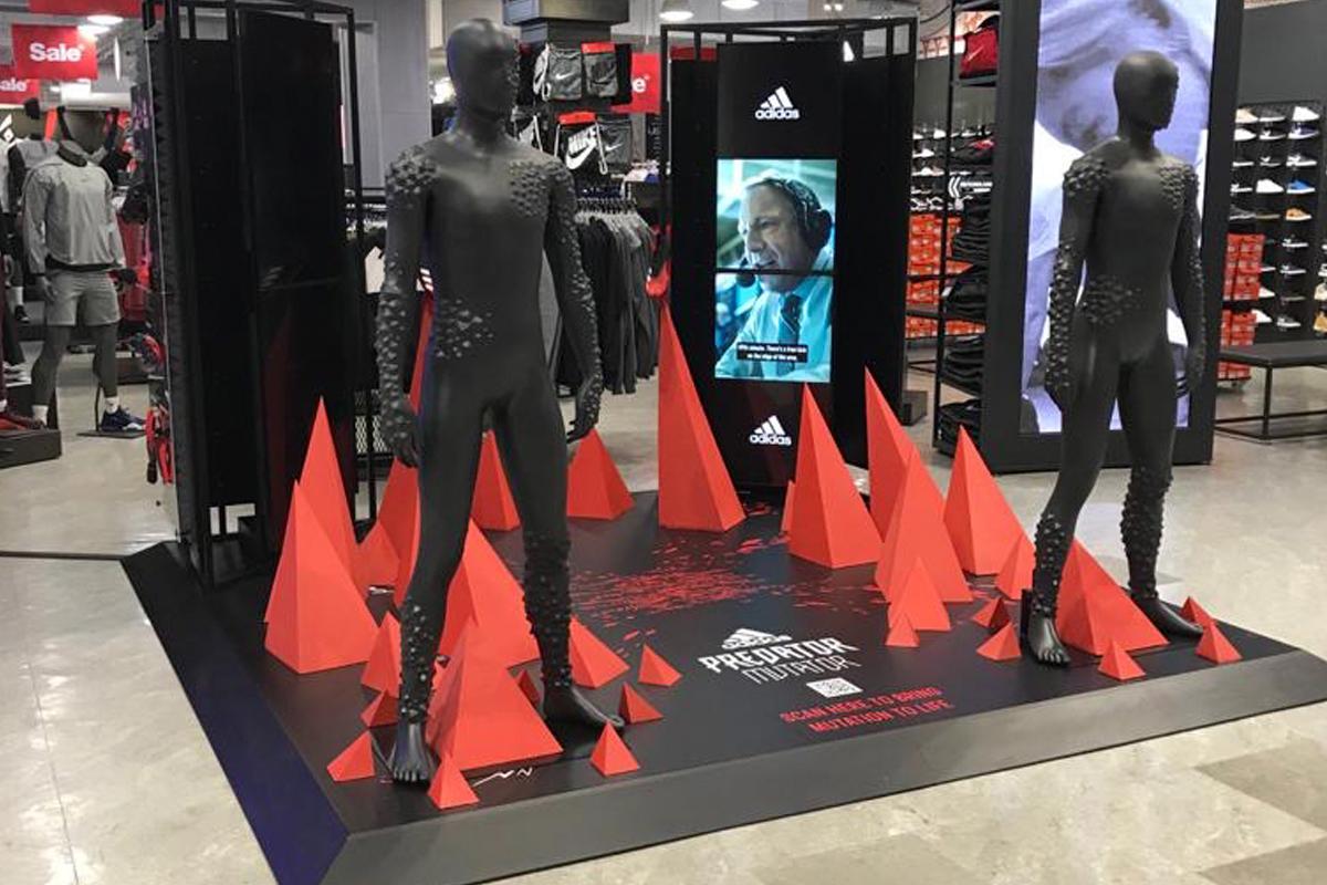 Adidas Predator launch zone