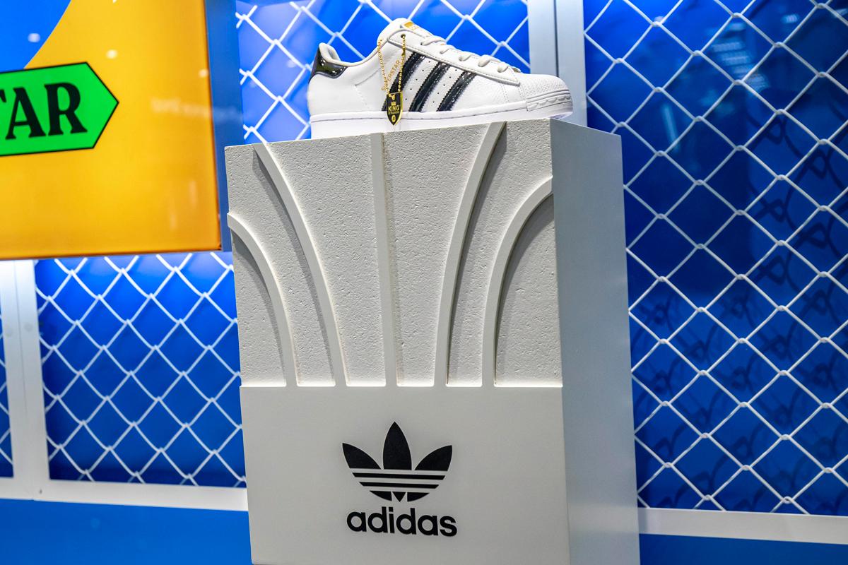 Adidas Superstar 2020 footwear plinth