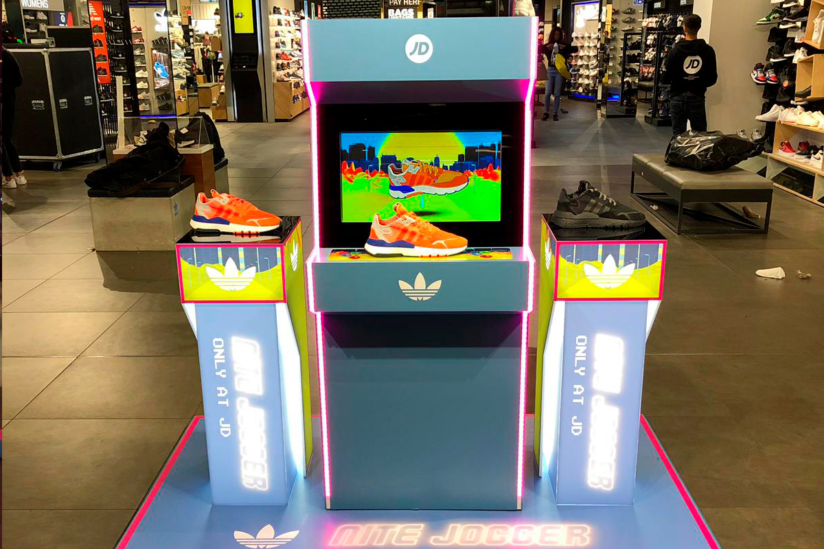 Adidas Nite Jogger launch zone