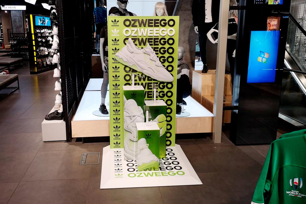Adidas Ozweego launch zone