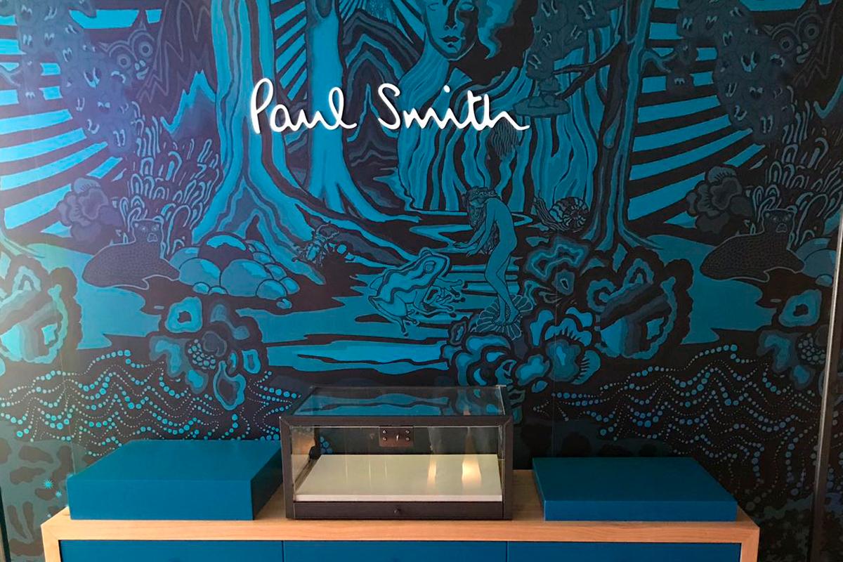 Paul smith harvey nichols main wall