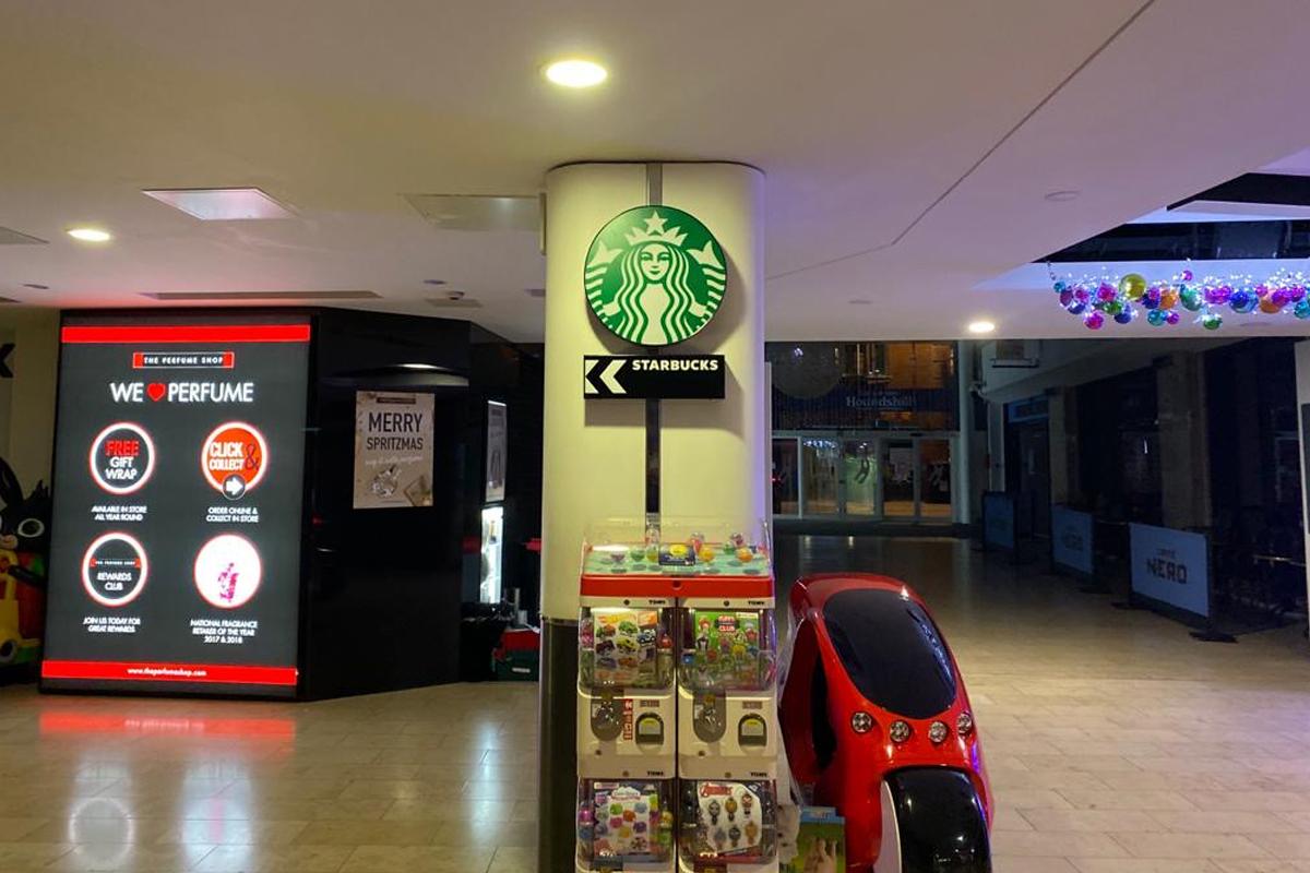 Starbucks Blackpool roundel