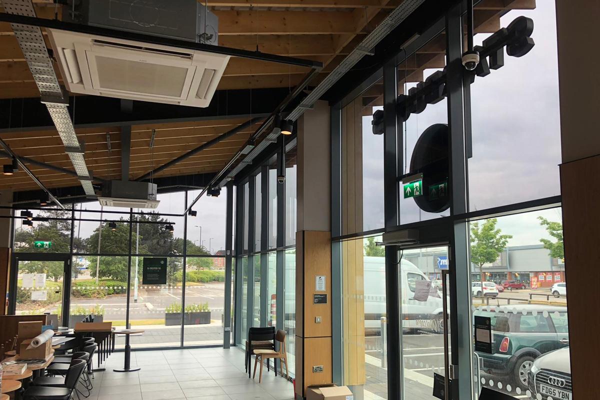Starbucks Solar film Rotherham