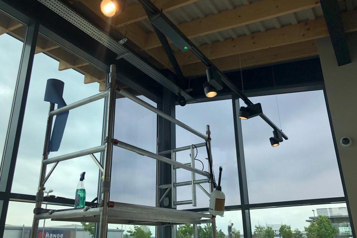 Starbucks Solar film Rotherham application