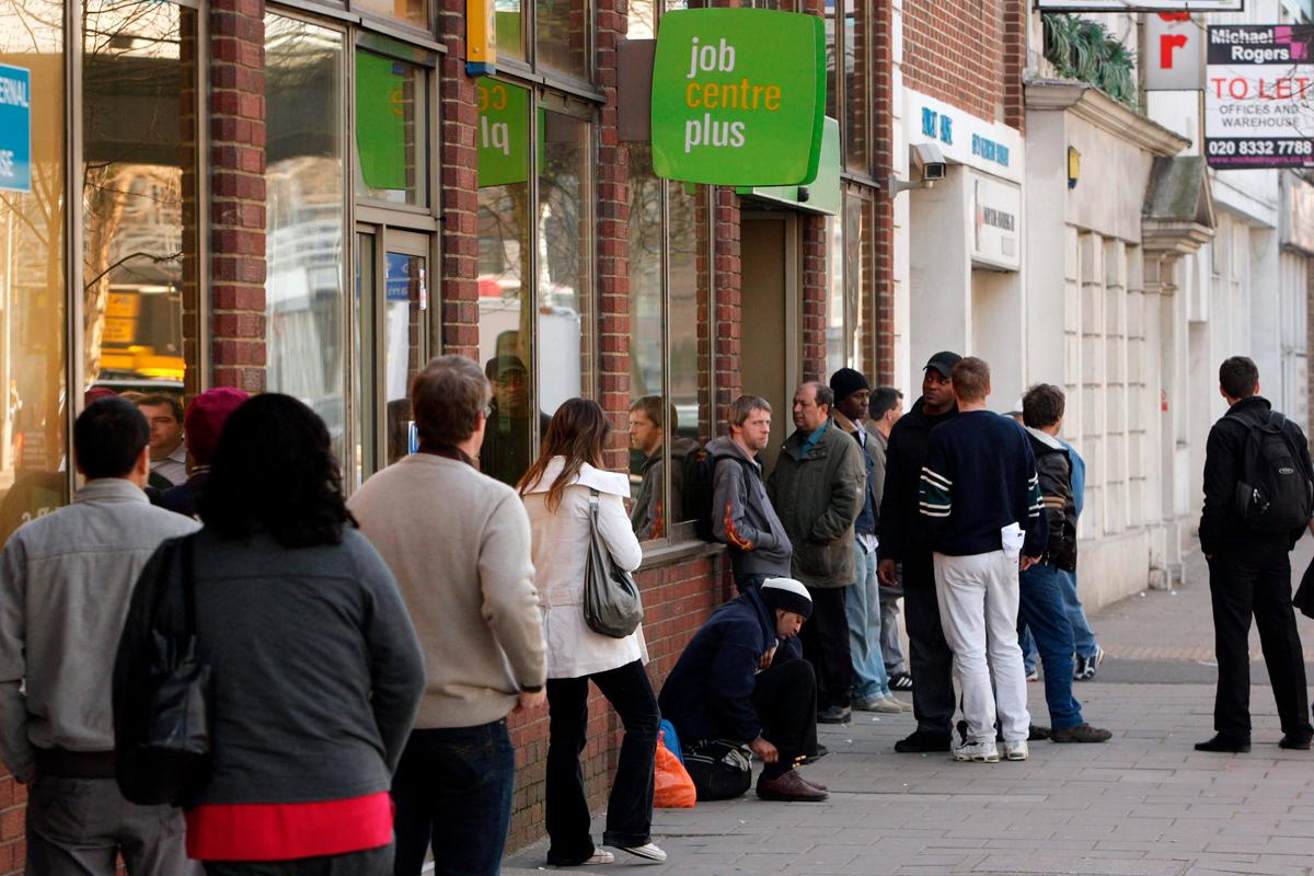 jobcentre queue
